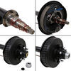 """Dexter Trailer Axle w/ Electric Brakes - E-Z Lube - 6 on 5-1/2 Bolt Pattern - 95"""" - 5,200 lbs EZ-Lube Spindles 6340624-EB"""