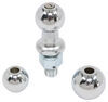 Tow Ready Chrome-Plated Steel Trailer Hitch Ball - 63803