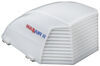maxxair rv vents and fans  ii trailer roof vent cover - 22-3/4 inch x 18-1/2 9-3/8 white