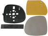 cipa replacement mirrors non-heated extendable towing mirror glass - rh