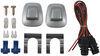 Westin Fey Surestep Rear Bumper with Custom Installation Kit - Chrome Plated Steel Surestep Bumper 71001-94400