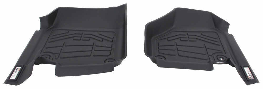 Westin Sure-Fit Custom Auto Floor Liners - Front - Black Contoured 72-110042