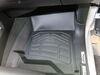 Westin Sure-Fit Custom Auto Floor Liners - Front - Black Thermoplastic 72-110052 on 2017 Chevrolet Silverado 2500