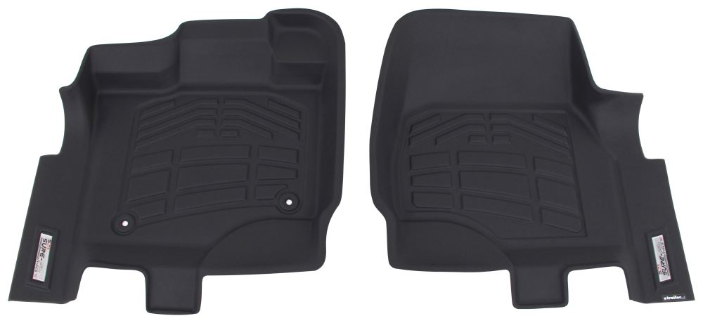 Westin Sure-Fit Custom Auto Floor Liners - Front - Black Black 72-110069