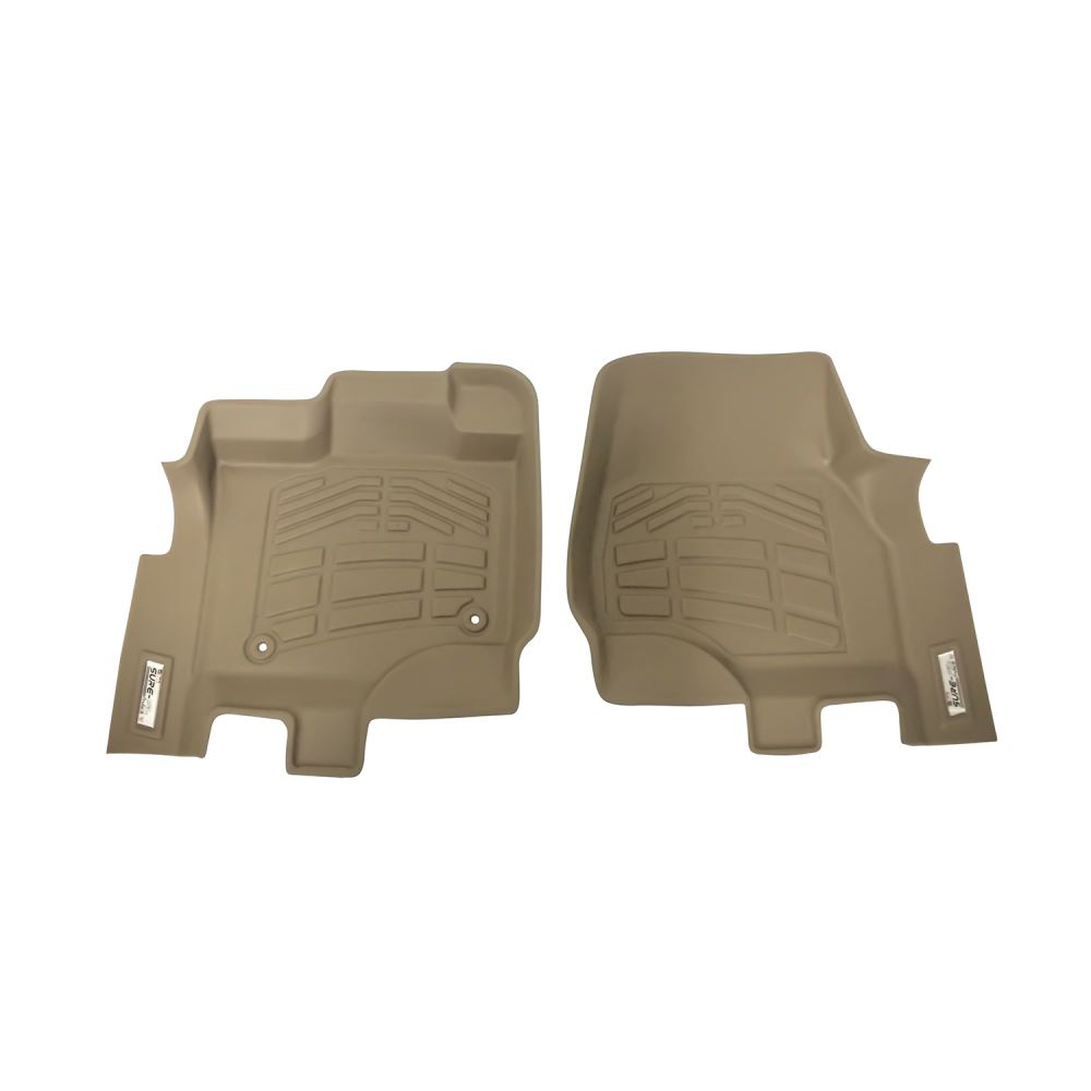 Westin Sure-Fit Custom Auto Floor Liners - Front - Tan Contoured 72-130069