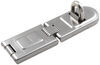 "Master Lock Contractor Grade Single-Hinged Hasp - 6-1/4"" Long Hasp 720DPF"