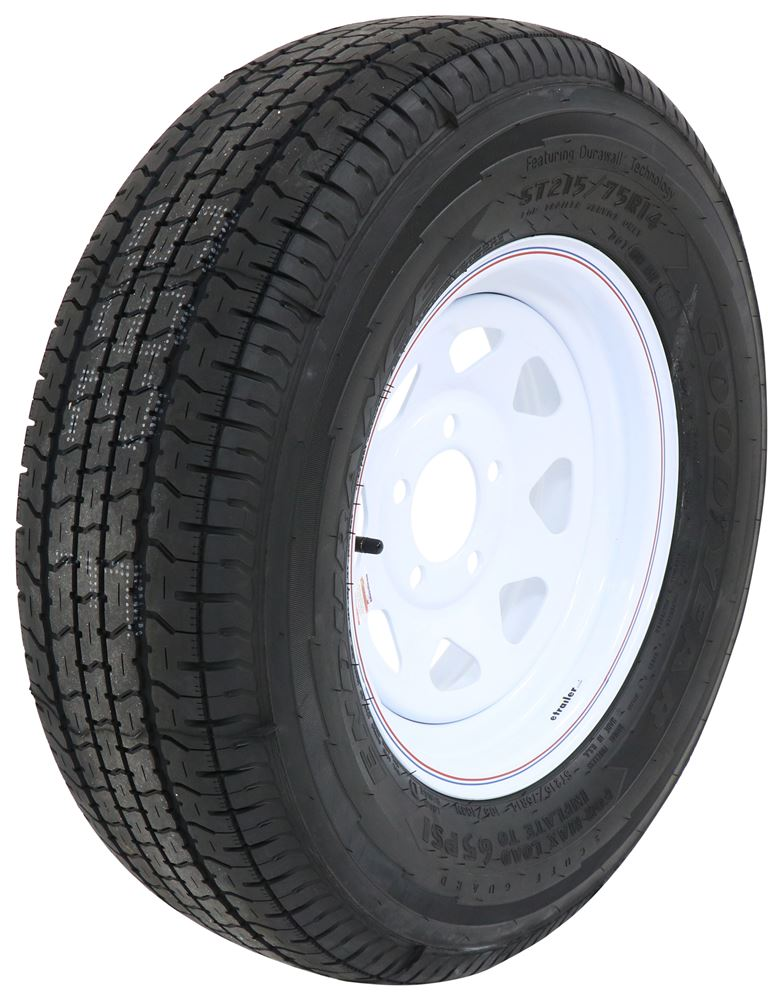 724865519A - Standard Rust Resistance Goodyear Tire with Wheel