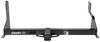 draw-tite trailer hitch 7500 lbs wd gtw 750 tw max-frame receiver - custom fit class iii 2 inch