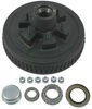 """Dexter Trailer Hub and Drum Assembly for 5,200-lb Axles - 12"""" Diameter - 6 on 5-1/2 1/2 Inch Stud 8-201-5UC3"""