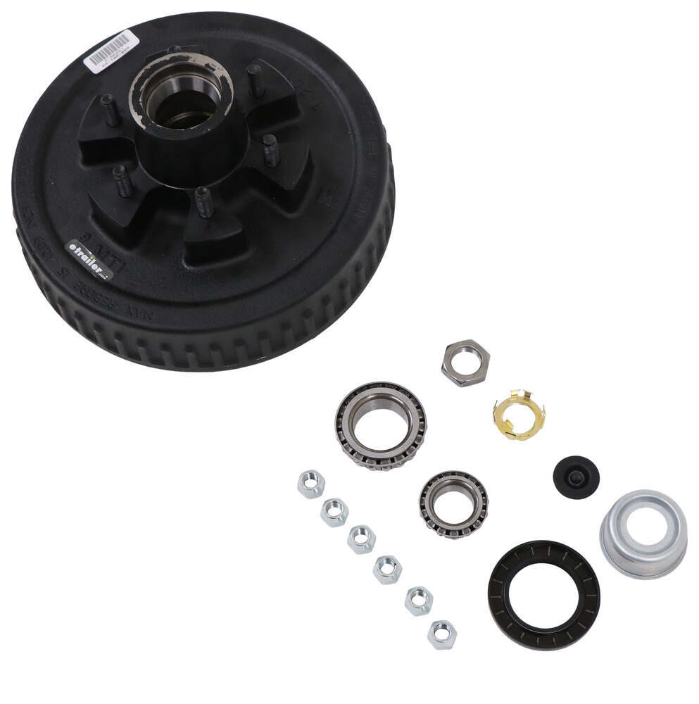 Dexter Axle EZ Lube Trailer Hubs and Drums - 8-201-9UC3-EZ