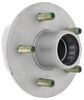"""Trailer Hub Assembly - 2,200-lb E-Z Lube Axle - 5 on 4-1/2 - 13"""" - 15"""" Wheels - Galvanized For 2200 lbs Axles 8-258-50UC1-EZ"""