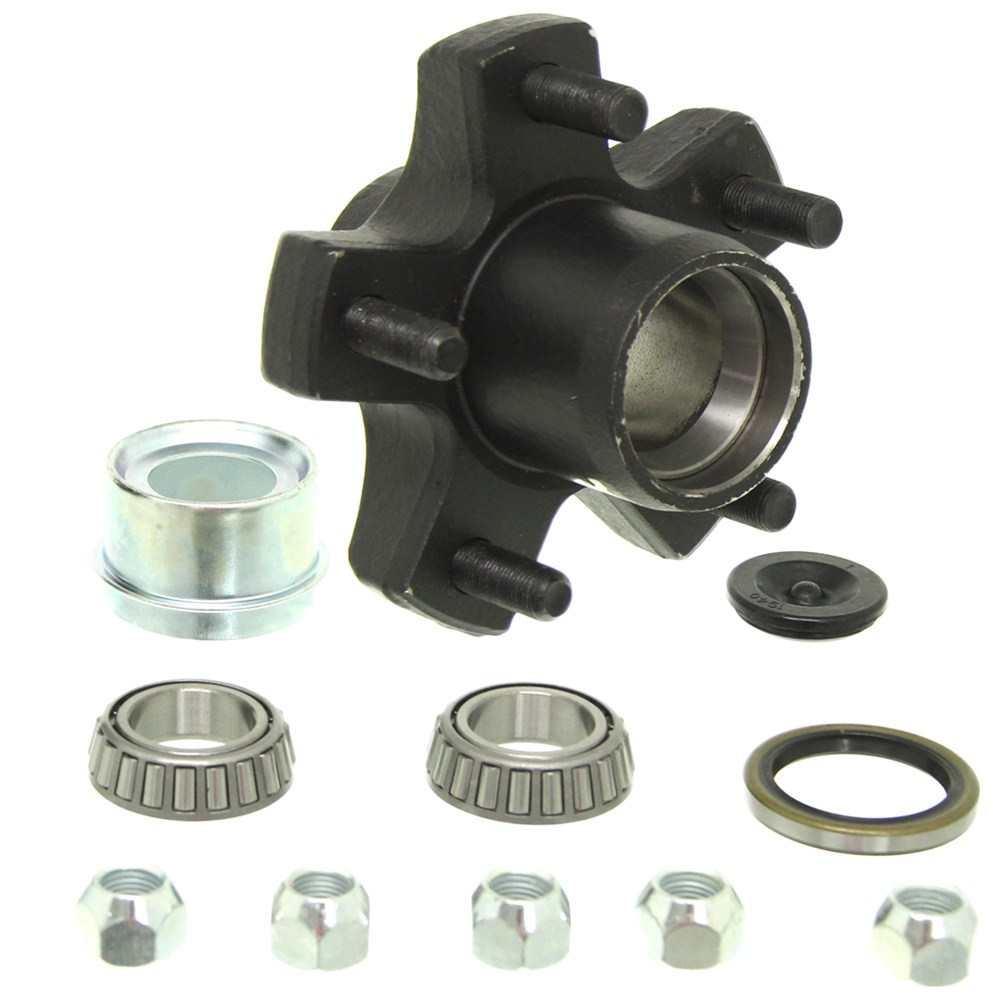 8-259-5UC1-EZ - 5 on 4-1/2 Inch Dexter Axle Trailer Hubs and Drums