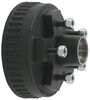 dexter axle trailer hubs and drums for 2000 lbs axles 5 on 4-1/2 inch hub drum assembly hydraulic brakes - 2 000-lb e-z lube