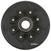"""Dexter Trailer Hub and Drum Assembly for 8,000-lb Axles - 12-1/4"""" - 8 on 6-1/2 - Oil Bath 9/16 Inch Stud 8-285-9UC3"""