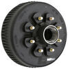 "Dexter Trailer Hub and Drum Assembly for 8,000-lb Axles - 12-1/4"" - 8 on 6-1/2 - Oil Bath 8 on 6-1/2 Inch 8-285-9UC3"