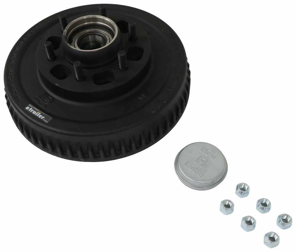 Dexter Axle 6 on 5-1/2 Inch Trailer Hubs and Drums - 8-388-80UC3