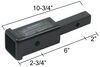 """Hitch Adapter 1-1/4"""" to 2"""" Trailer Hitch Receiver (Class II Only) 6 In Extension 80303"""