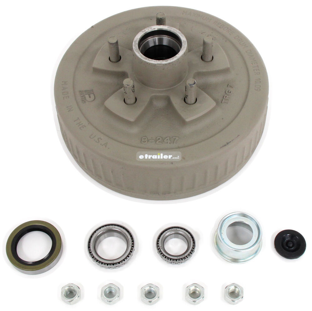 Dexter Axle L44649 Trailer Hubs and Drums - 845476UC3-EZ