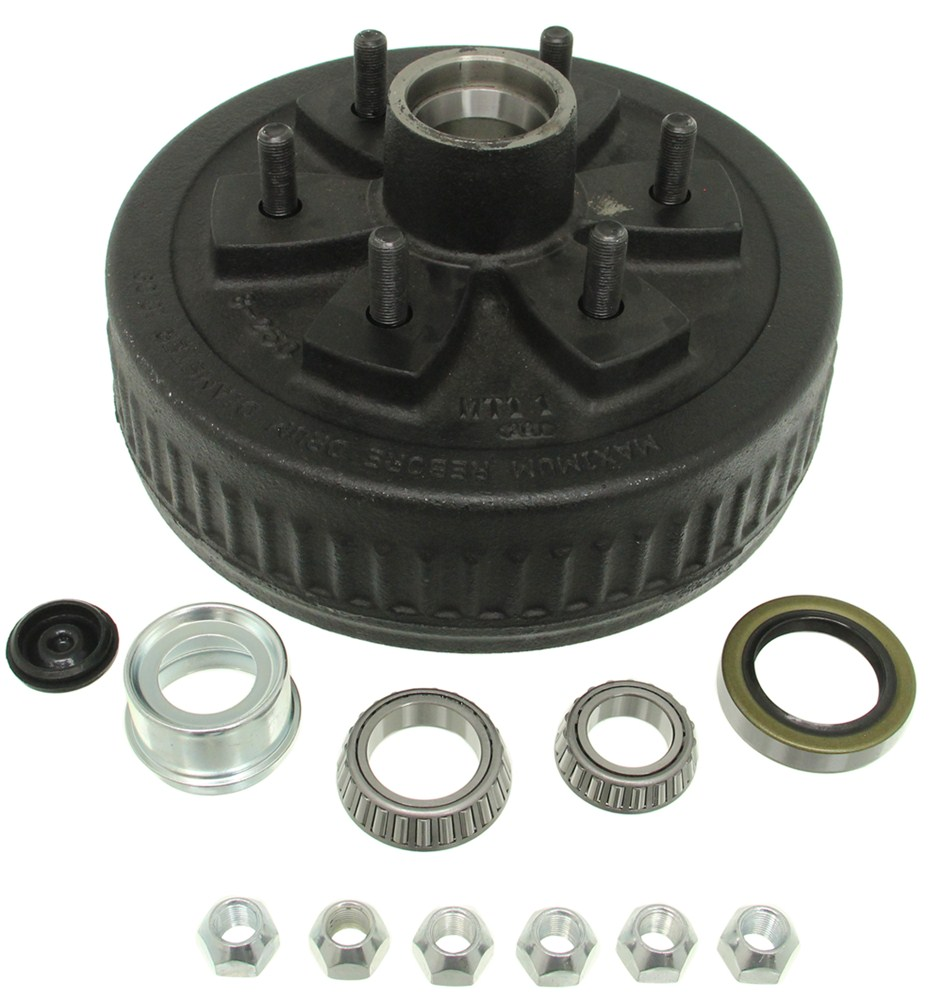 Trailer Hubs and Drums 84656UC3-EZ - 14-1/2 Inch Wheel,15 Inch Wheel,16 Inch Wheel,16-1/2 Inch Wheel - Dexter Axle
