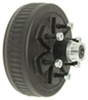 "Dexter Trailer Hub and Drum Assembly for 3,500-lb E-Z Lube Axles - 10"" Diameter - 6 on 5-1/2 6 on 5-1/2 Inch 84656UC3-EZ"