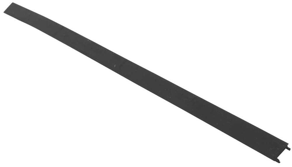 """Replacement Bottom Channel Cover for Thule AeroBlade Load Bars - 14-1/4"""" Long - Qty 1 Channel Cover 852-4498-001"""