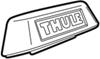 853-7084 - Cover Thule Accessories and Parts