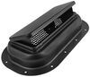 "Replacement Exterior Pop-Up Roof Vent - Steel - 13-1/2"" x 8"" - Black Black 9106"