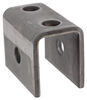 """Rear Hanger for Double-Eye Springs - 1-9/32"""" Tall - 9/16"""" Bolt Hole - Single Axle Only 1-1/4 Inch Tall 93003-3X"""