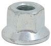 """Flange Wheel Nut - 5/8"""" Zinc-Plated Steel 95188"""