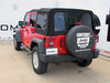 Curt Class III Trailer Hitch - 9883544 on 2014 Jeep Wrangler Unlimited
