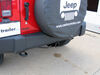 "Curt Trailer Hitch Receiver - Custom Fit - Class III - 2"" 2 Inch Hitch 9883544 on 2014 Jeep Wrangler Unlimited"