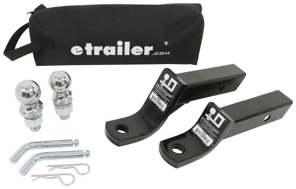 Trailer Hitch Ball Mount 989900 - Drop - 2 Inch,Drop - 4 Inch,Rise - 1 Inch,Rise - 3 Inch - etrailer