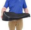 """Rumber Horse Trailer Saddle Rack - Recycled Rubber and Plastic - 24-1/8"""" Long Saddle Rack 9901-0"""