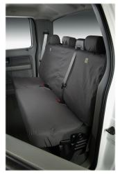 - SS7432PCCT Covercraft SeatSaver Second Row Custom Fit Seat Cover for Select Ram 1500 Models Polycotton Misty Grey