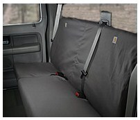 - SSC3305CAGY Gravel Duck Weave Covercraft Carhartt SeatSaver Front Row Custom Fit Seat Cover for Select Ford F-250 Super Duty//F-350 Super Duty Models