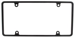 Cruiser Accessories 20643 Nouveau License Plate Frame Chrome Plastic