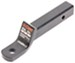 """Curt Ball Mount for 2"""" Hitches - 3/4"""" Rise, 2"""" Drop - 10-1/4"""" Long - 7,500 lbs"""