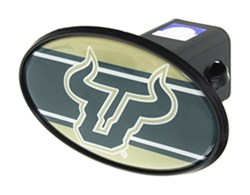 Florida Bulls College Trailer Hitch Cover Siskiyou Automotive CTH101S Siskiyou S