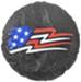 PlastiColor USA Flag Tire Covers