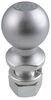 curt trailer hitch ball 2-5/16 inch diameter - 1-1/4 x 2-5/8 long shank chrome 10 000 lbs