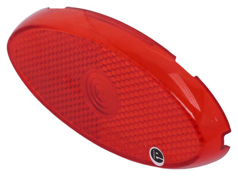Replacement Lens for Optronics MCL0028 Series Clearance or Side Marker Light - Red Red A0028RB