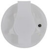 """Valterra Flush Mount Water Inlet - 2-3/4"""" Plastic Flange - MPT - White 1/2 In FPT x 2-3/4 In Flange A01-0168VP"""