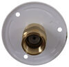 valterra rv water inlets city fill inlet flush mount lead free - 2-3/4 inch metal flange fpt white