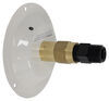 Valterra Water Inlet for RVs - Metal Recessed Flange - Colonial White Brass A01-0177LFVP
