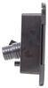 Valterra City Water Inlet and Lockable Hatch for RVs - Plastic - Black - Gravity Fill 7-5/8 Inch Diameter A01-2004BKVP