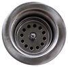 Valterra Sink Drain with Strainer Basket Stainless Steel A01-2011VP