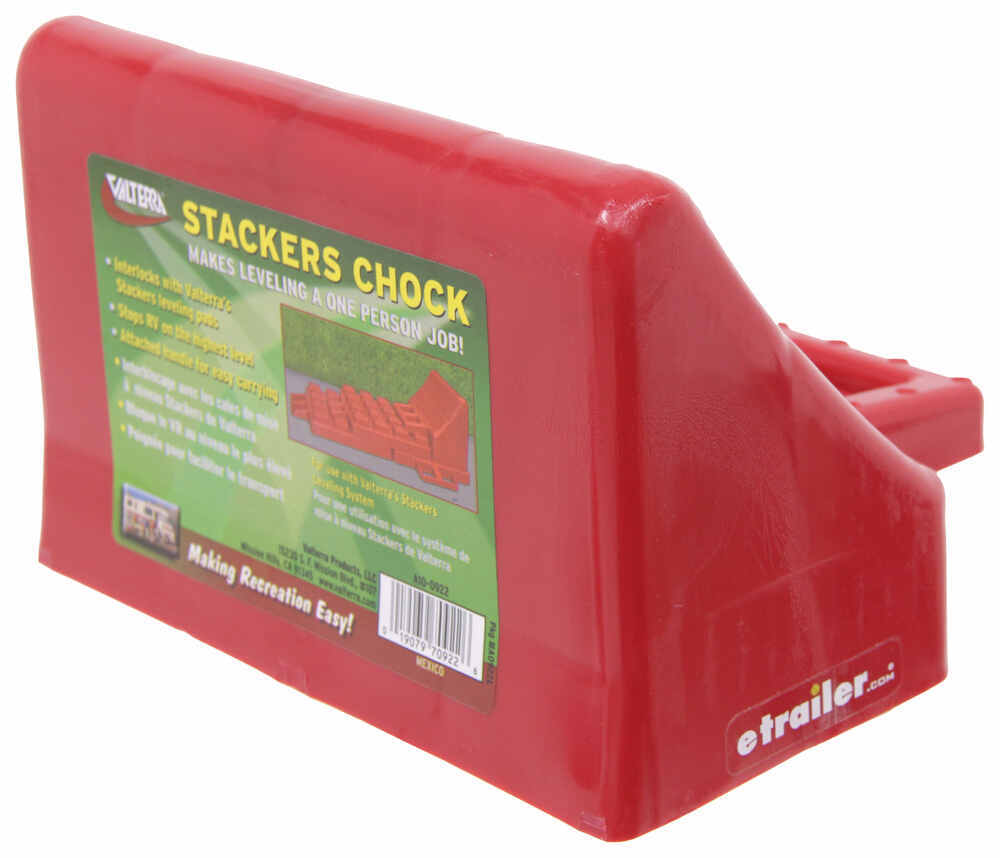 Stackers Red Wheel Chocks - A10-0922