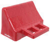 stackers wheel chocks chock plastic for leveling blocks - polyethylene qty 1