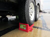 0  wheel chocks stackers trailer chock rv plastic a10-0922