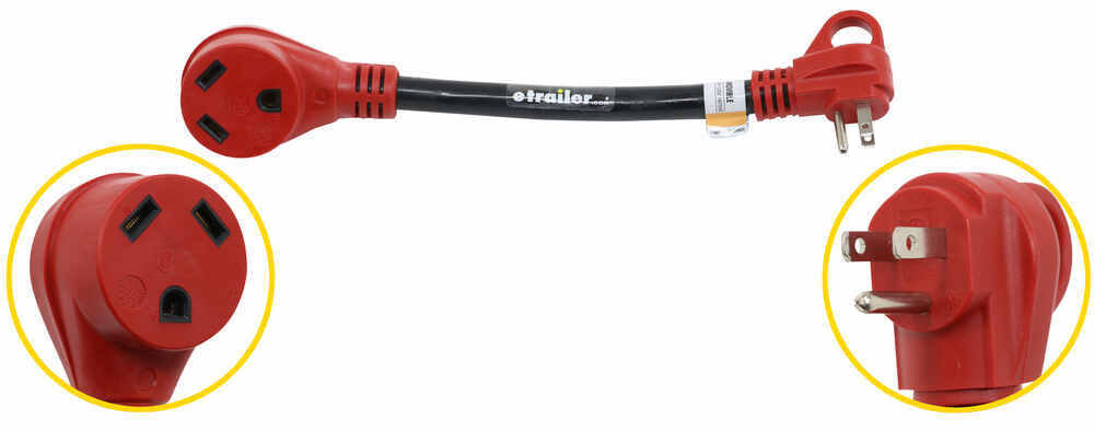 A10-1530 - 12 Inch Long Mighty Cord Adapter Cord